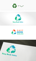 Secondhand Book Shop Logo by DianaGyms