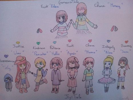 HUMANS !!!!!!! and ghost XD by Limielle