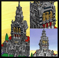 LEGO Cathedral By MushroomBrain by MushroomBrain