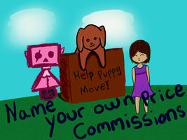 Name your own price commissions by Puppy-41