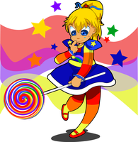 Rainbow brite by kudoze