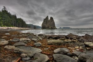 Rialto Beach by EvaMcDermott