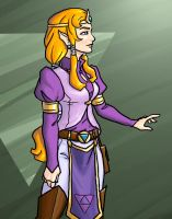 Zelda redesign by DeepChrome
