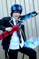 Okumura rin cosplay:then we start? by Guilcosplay