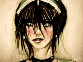 Adult Toph by Pictrixel