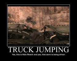 Truck Jumping by LateNightBandicoot