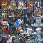 Winter Icons 2 by Shadow-Wolf