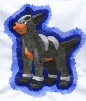 Houndour by twilightlinkjh