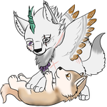 GIFT: Crys and Mala by MagicallyCapricious
