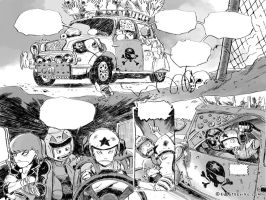 Tinkers page double spread by raultrevino