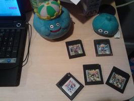 Dragon Warrior GBC Games by Tibby-san