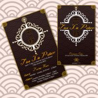 Restaurant Business Card IF IB by iamthewizard2