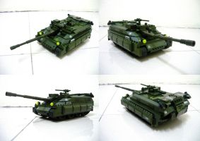Lego APC to Tank!! (2.1) by SOS101