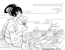Yuko in Late Summer XXXHoLic by aimeekitty