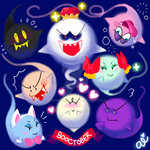 a booriety of boos by auenchante