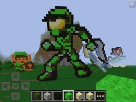 Halo in minecraft? by Dragondud