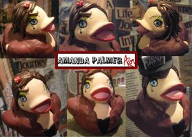 Amanda Palmer Duck by msfurious