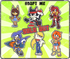 ::ADOPT:: Various (SOLD OUT) by mARTz-9o