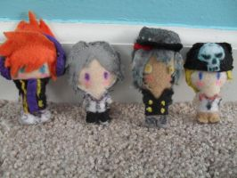 TWEWY Plush Collection 1 by FirstDecemberRose