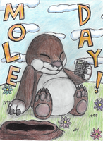 Mole Day by TomoGeminiLion