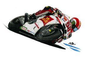 Marco Simoncelli SuperSic58 by austindeh