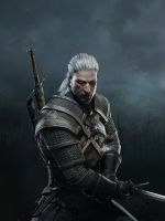 The Witcher 3 Wild Hunt Geralt iPad by Scratcherpen