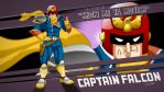 Captain Falcon by SupaCrikeyDave