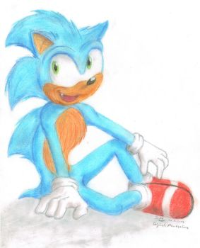 Sonic 2014-05-10 by Metal-Skotty