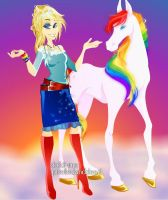 Rainbow Brite Fairy Chic maker by JoeyAngel