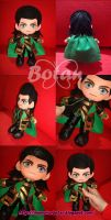 chibi Loki plush version by Momoiro-Botan