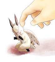 gentle petting by blinding-eclips