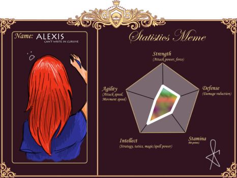 PokePalace: Alexis Statistics by WhisperedAgony