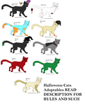 :OPEN: Halloween Cats Adoptables by nyan-pony-adoptz9978