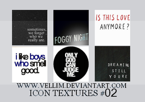 Icon Textures 2 by Insolatte