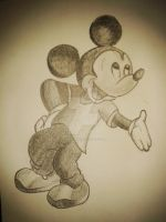 Old Mickey Mouse by MarkABPalma