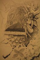fairy on the wall by Fantasy-Fellowship