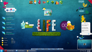 Rainmeter- Nature Life by iamshobhit