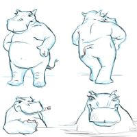 hippo by cluis