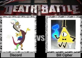 Death Battle: Discord vs Bill Cipher by MaxEd32