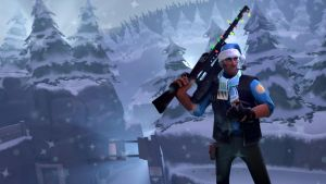 Team Fortress 2 - Jolly Sniper in Winter Paradise by TonyC445