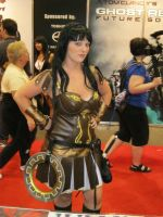 Xena Warrior Princess by aquaboysteve