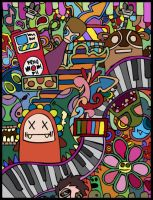 small but COLOURFUL by dewone