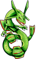 Student Rayquaza by raizy