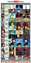 My 13 Favorite Voice Actors by soryukey