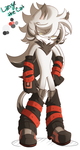 Lanze the Cat:: Sonic oc by Orochi-D