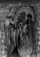 Dumbledore and his family by Blacleria