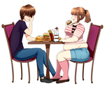 CM: Food Tastes Best With Those You Love 1 by CakeHoarder