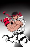Ryu Colored by MelloUshimawa