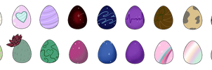 [CLOSED] 10 POINT Pony Egg Mystery Adopts by Bolties