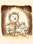 Where the wild things are by Akriel